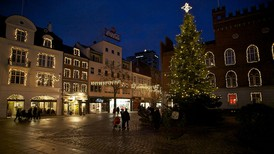 Juletræet tændes i Odense