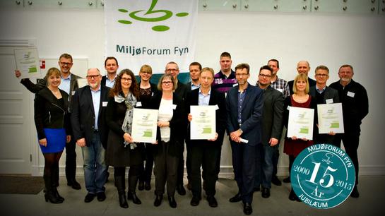 MiljøForum Fyn Diplomfest 2015