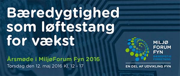 Årsmøde MiljøForum Fyn 2016