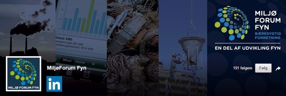 Følg Miljø'Forum Fyn på LinkedIN